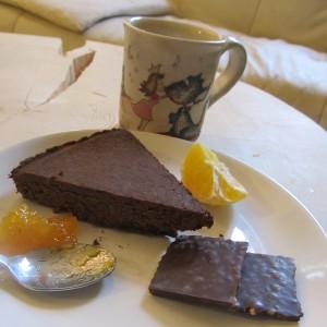 Torta-Senza-Glutine-Senza-Zucchero-al-Cioccolato-con-Ceci