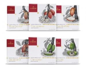 Le sei diverse varietà di Criollo della selezione Domori