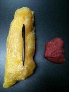 1 kg di grasso e 1 kg di muscolo