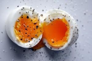 Il tuorlo delle uova
